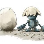 鋼鉄の鳥の雛