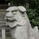 名古屋で狛犬撮った。
