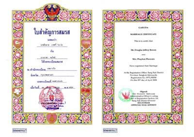 брак и развод в таиланде