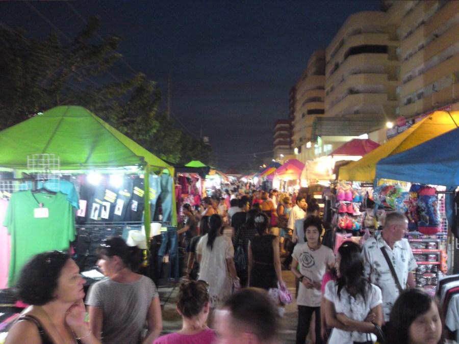 рынки паттайи: ночной рынок