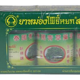тайский зеленый бальзам Пойок