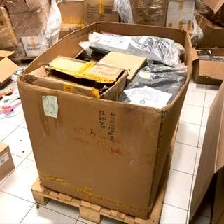 Įvairių Prekių Paletės Be Sąrašų – Parduotuvių Grąžinimai / Unmanifested Pallets Of Various Goods – Shop Returns