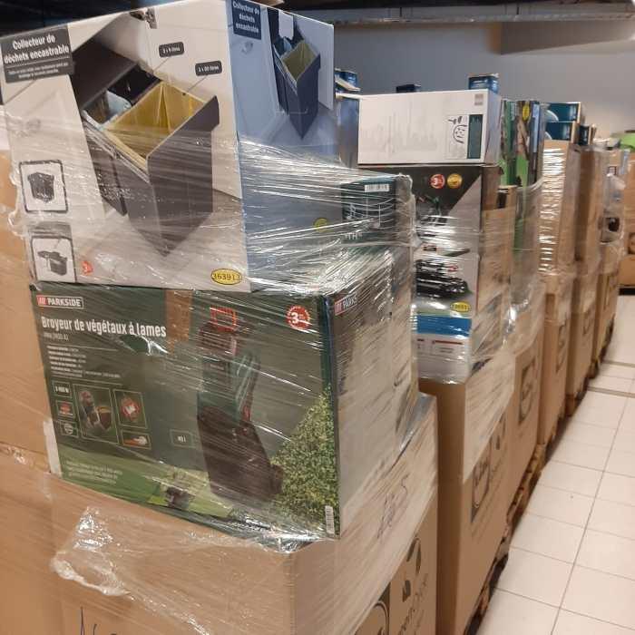 Paletės iš Europos Parduotuvių / Pallets From European Shops