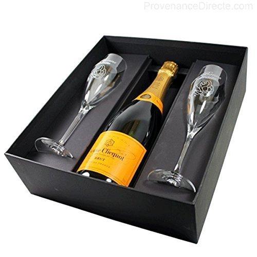 Veuve clicquot coffret retraite v clicquot rose 1001 vins - Coupe champagne veuve clicquot ...