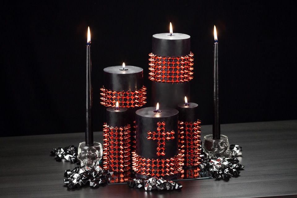 Gothic Candles Decor Ideas