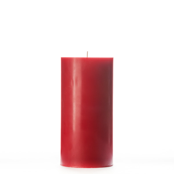 4x8 Red Pillar Candle
