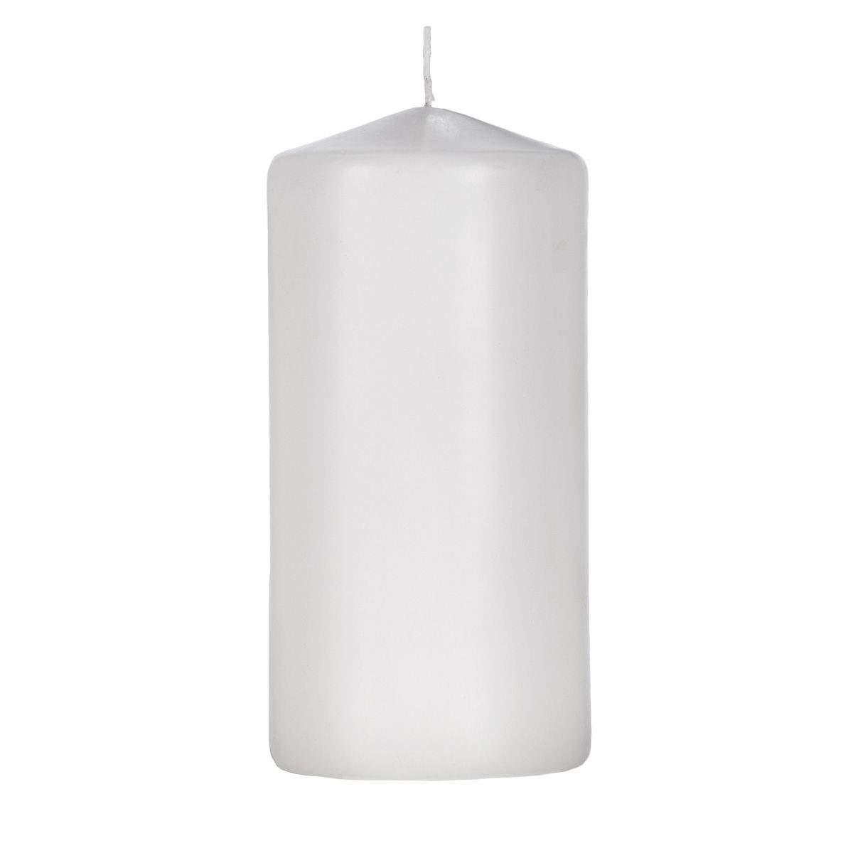 3x6 White Pillar Candle