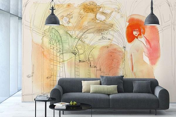 Carte da parati per la camera da letto, le idee degli interior decorator. Come Applicare La Tappezzeria Ai Muri Arredare Con La Carta Da Parati 100casa