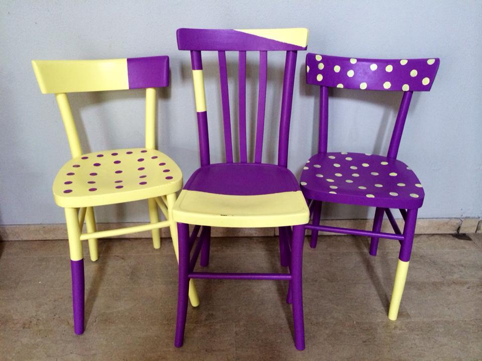 Sedia in legno nuova gia' montata grezzo da verniciare modello milano vintage anni 50 : Fai Da Te Creativo Rinnovare Le Sedie In Legno 100casa