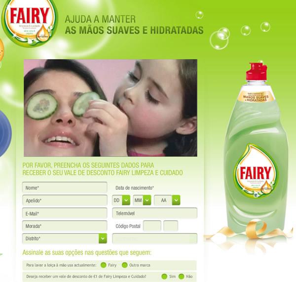 Vale descontos <em>Fairy Limpeza</em>