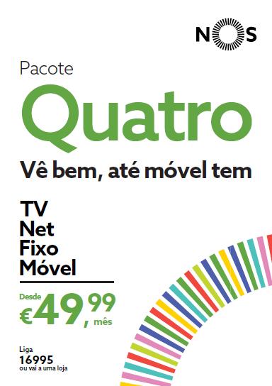Pacote Quatro NOS