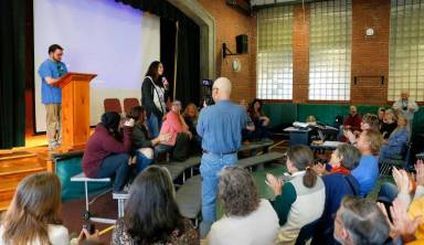 Conservative Kentuckians, Leverett counterparts reach across the political gap