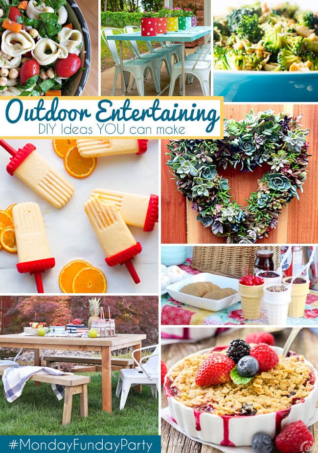 Summer Outdoor Entertaining Ideas