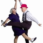 elderly dance