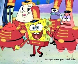 spongebob band