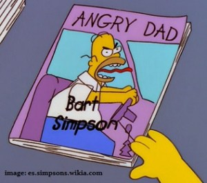 angry dad