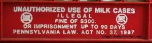 crate warning