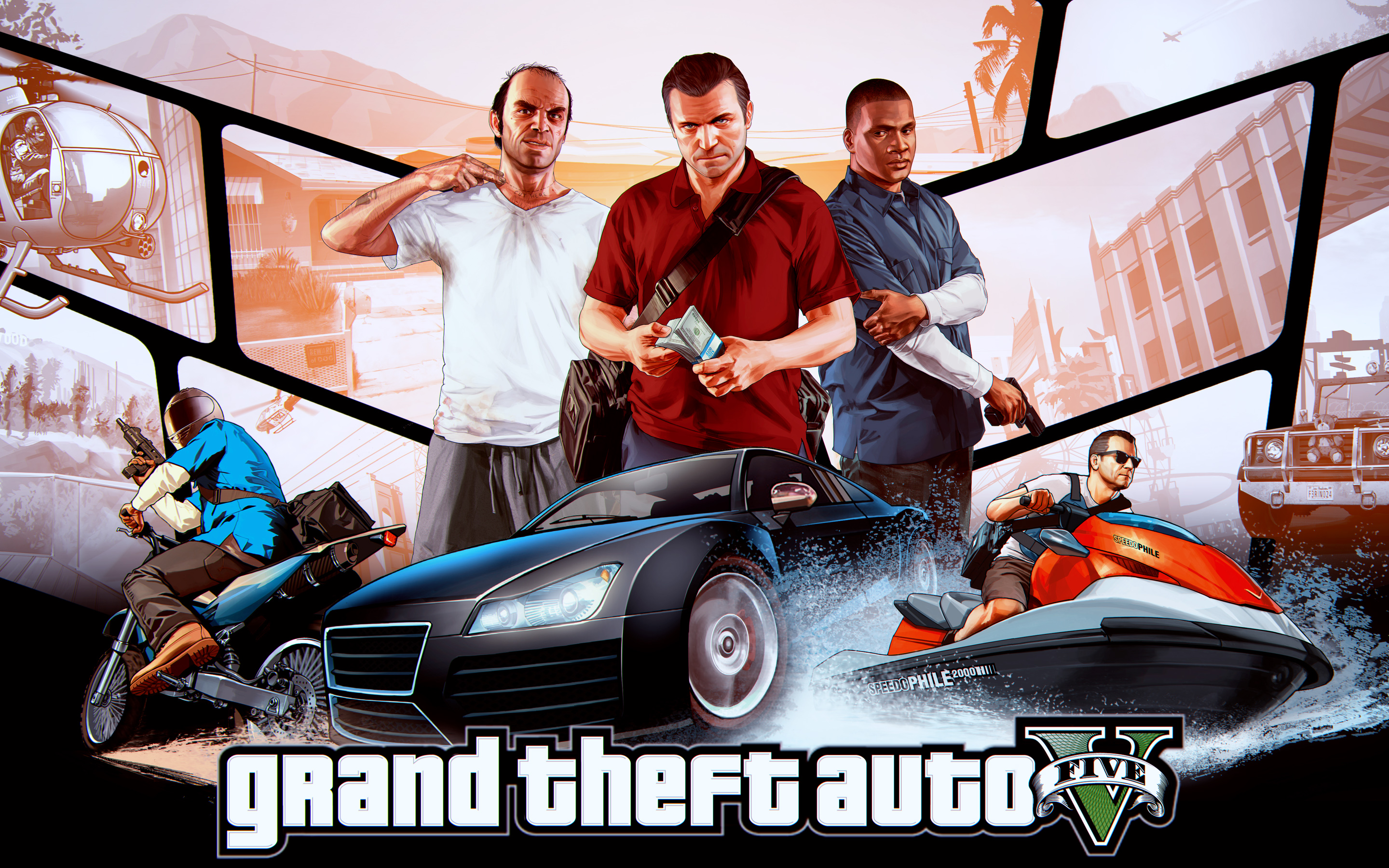 gr theft auto v wallpapers | wallpapers hd