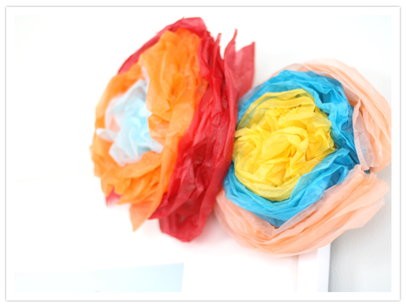 DIY festive Mexican paper flowers   DIY Projects   100 Layer Cake We