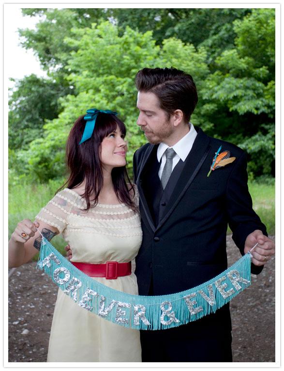 A Beautiful Mess wedding