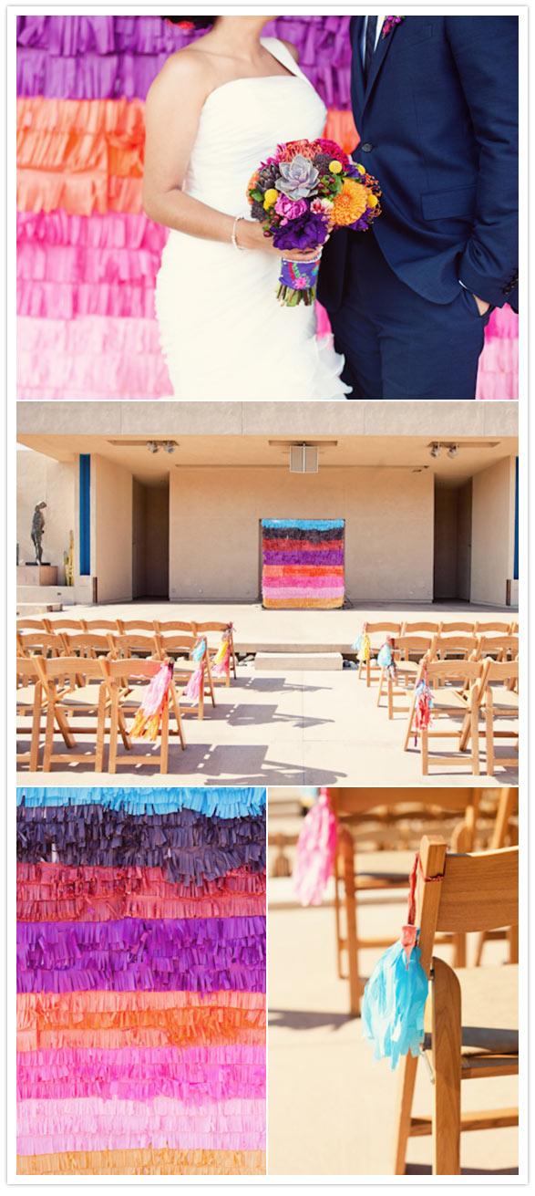 festive mexican style wedding