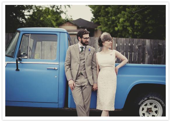 vintage homespun wedding