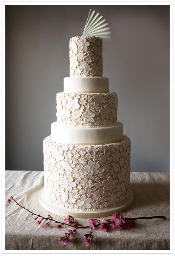 Modern wedding cakes | Wedding Inspiration | 100 Layer Cake