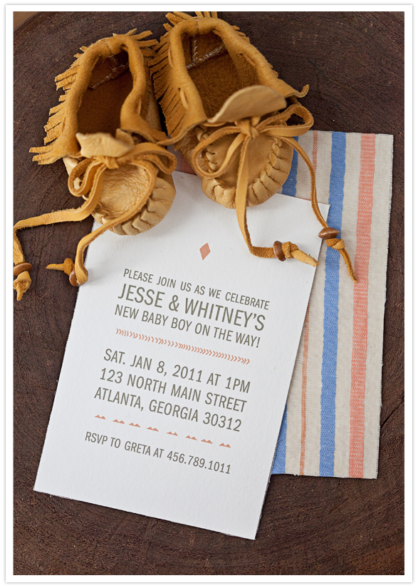 Our Labor Of Love Modern Baby Shower Invitations