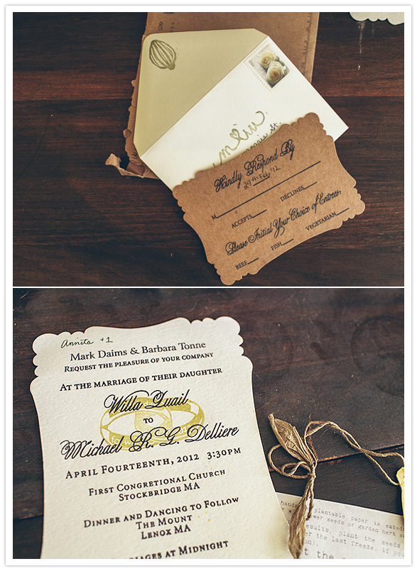 Picture Perfect Wood Grain Wedding Invitation By Weddingpaperie Com