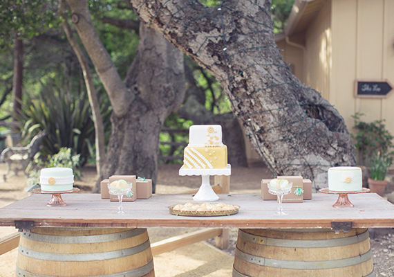 Rustic sweets table | photo by This Love of Yours | 100 Layer Cake