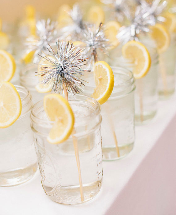 silver drink stirrers | 100 Layer Cake