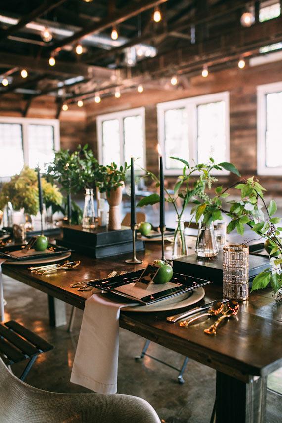 Mid-century modern wedding inspiration | Black wedding ...