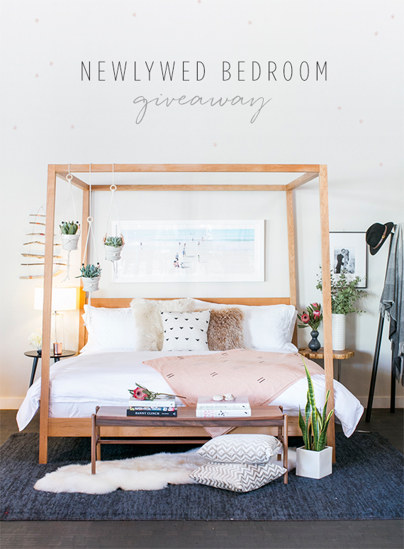 Newlywed Bedroom Giveaway With Room Board And  Layer Cake Photo By Scott Clark