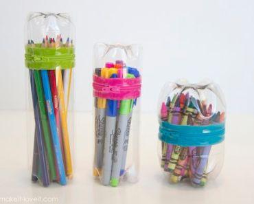 5 manualidades recicladas con botellas de plstico - Manualidades Recicladas