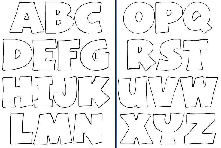 Moldes de letras para imprimir y recortar gratis - Imagui...