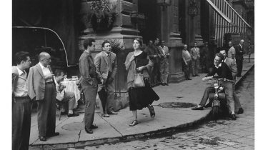 """An american girl in Italy"" di Ruth Orkin"
