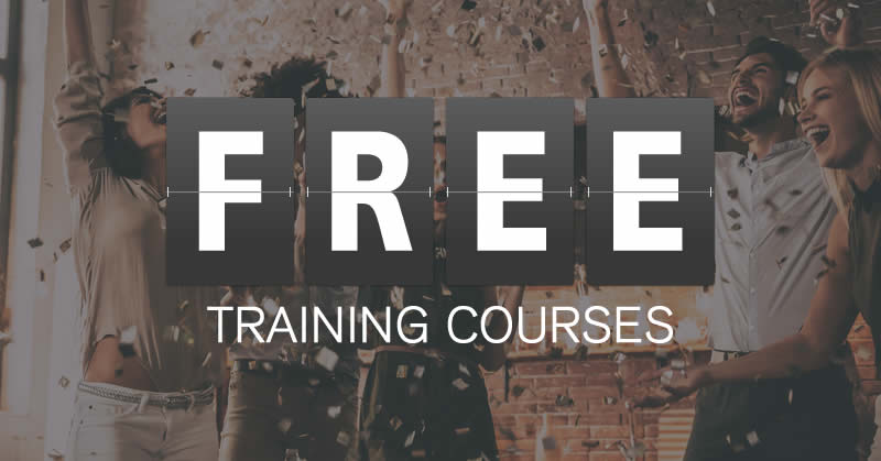 Free Online Training Courses From 100 Effective