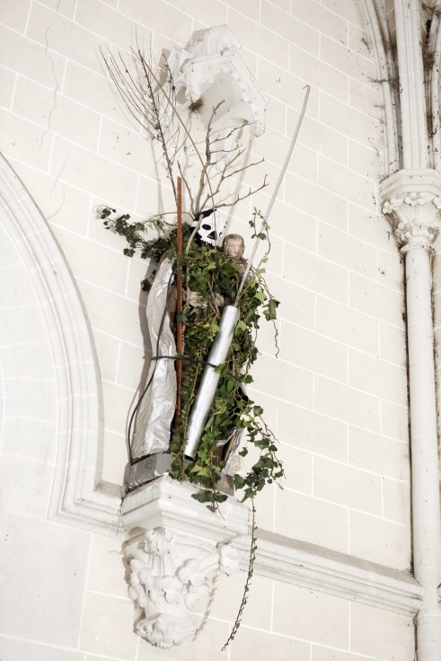 STATUE « Nature is not Dead » - 2019 Francis Persu Installation