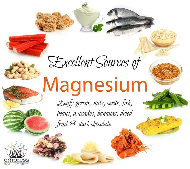 Sources of Magnesium