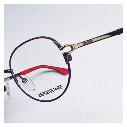 Zadig & Voltaire VZJ024 V OPTIQUE1010 FACHES THUMESNIL Réf 16824