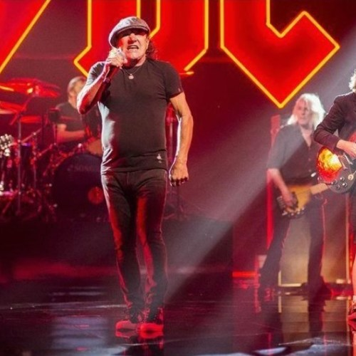 Did AC/DC leak photos from a video shoot?