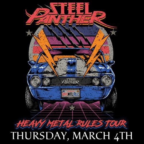 Tomorrow Steel Panther Cedar Rapids Iowa!!!