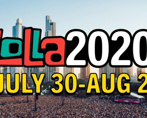 Starts Tonight! Lollapalooza Celebrates Live Music with LOLLA2020