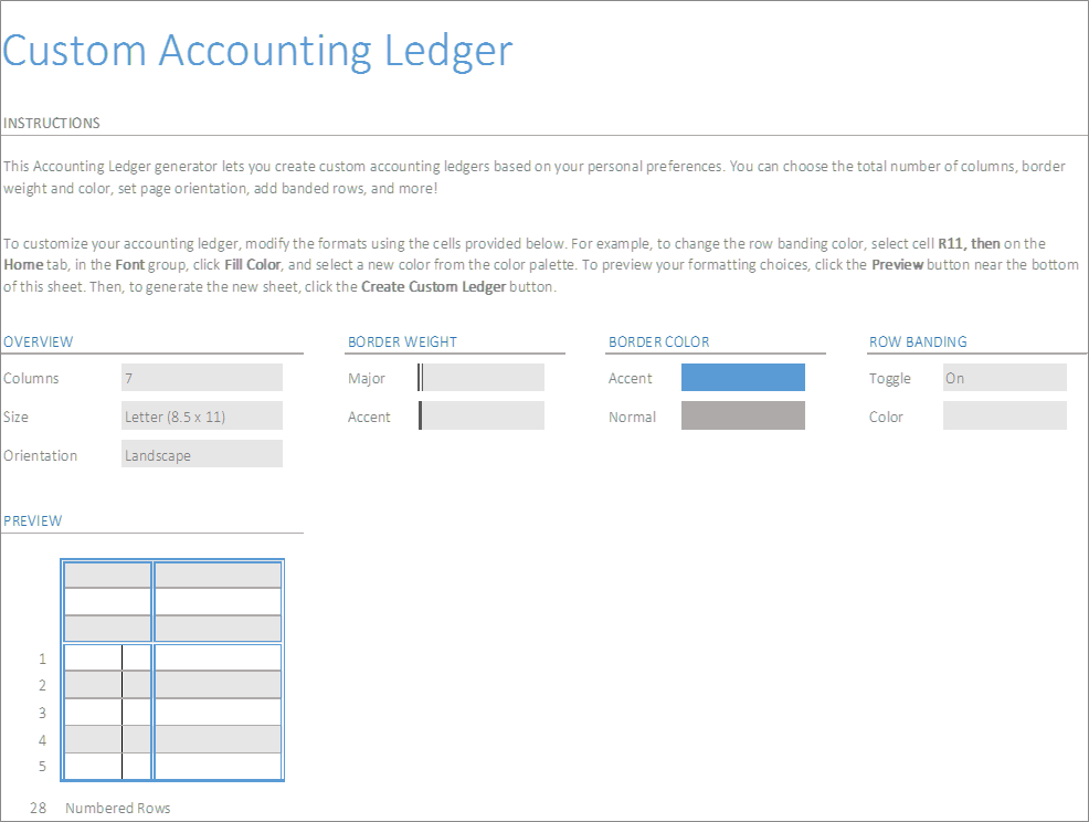 account ledger excel generator business insights group ag