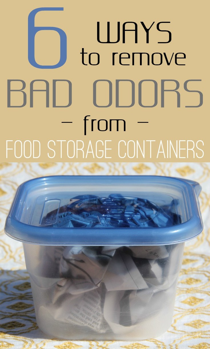 6 Ways To Remove Bad Odors From Food Storage Containers