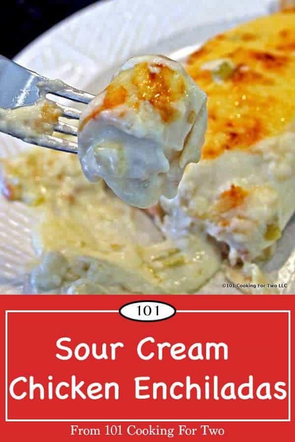 Chicken Best Enchiladas Cream Sour