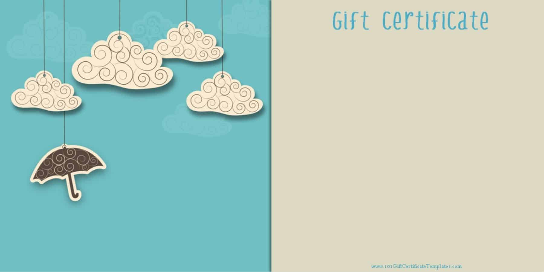 images for gift certificate template