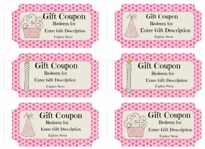 Free Custom Birthday Coupons Customize Online Amp Print At
