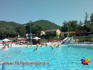 Parco Acquatico Bolle Blu, piscina principale