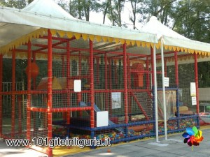 Parco Acquatico Bolle Blu - l'area giochi